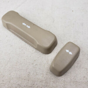 1995 Acura Legend Passenger Right Side Power Seat Switch Buttons Knobs Set Of 2