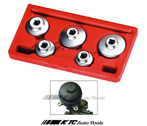 5pcs Oil Filter Cap Wrench Set For Mercedes Benz Bmw Ford