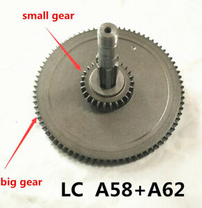 Set Bridgeport Mill Part Milling Machine Spindle Bull Gear Assembly A58 A62