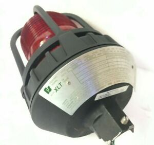 Federal Signal Lights 191xl 120 240r Hazardous Location Warning Light Led Red