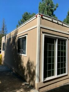 2 Used Mobile Office Trailer 40ftx10ft And 8ftx28ft palo Alto Ca