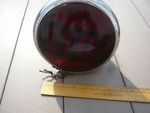 Early Vintage Stop Lamp Car Truck Motorcycle Hot Rat Rod Antique Tail Light