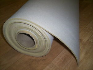 Auto Headliner Upholstery Fabric With Foam Backed 62 x 60 Lt Gray Free Shipping