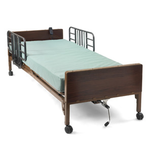 Very Nice Medline Semi electric Hospital Bed With Rails