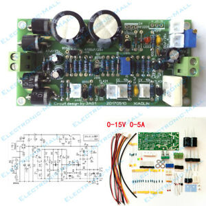 Irf3205 0 15v 0 5a Continuously Adjustable Regulated Power Supply Diy Kits
