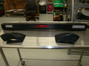 83 90 Alfa Romeo Spider Rear Hard Spoiler Assembly With 3rd Light Original Alfa