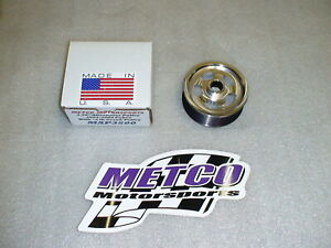 New Metco 3 5 Oversize Alternator Pulley Use With 6lb Lower Pulley 03 04 Cobra