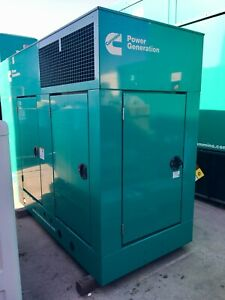 35 Kw Cummins Natural Gas Generator Set New Surplus