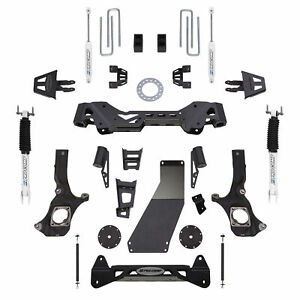 Pro Comp Block Kit 6 In Fits 2011 2017 Chevrolet Silverado 2500 Hd Expk1085b