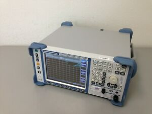 Rohde Schwarz Fsv13 Signal And Spectrum Analyzer 10 Hz To 13 6 Ghz