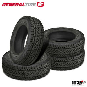 4 X New General Grabber Apt 265 70r18 116t All terrain Light Truck Tire