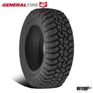 1 X New General Grabber X3 35 12 5 R20 121q Off Road Max Traction Tire