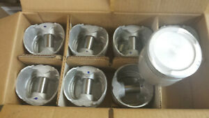 318 Dodge Truck Pistons 1959 Thru 1968 040 Over Cast Set Of 8