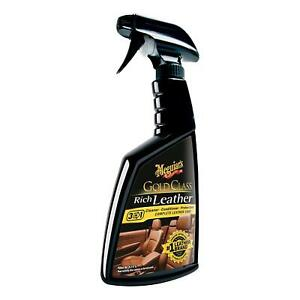Meguiar S G10916 Gold Class Rich Leather Cleaner Conditioner 15 2 Oz