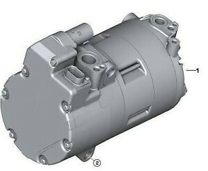 Ac Compressor Fits Bmw 330e 530e 740e X5 Electric gas Models 2016 2017 2018