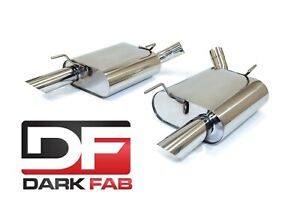 Darkfab Ford Mustang Gt 05 09 Stainless Steel 2 5 Axleback Exhaust 4 6l 5 4l V8