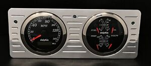 1940 1941 1942 1943 1944 1945 1946 1947 Ford Truck Dash Gauge Gps Cluster Black