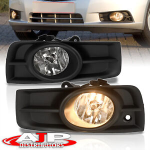 Chrome Driving Bumper Fog Lights Lamps Wiring Switch For 2009 2014 Chevy Cruze