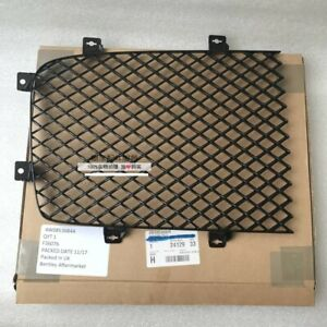 2013 Bentley Continental Flying Spur Radiator Rh Grille Black glossy 4w0853684a