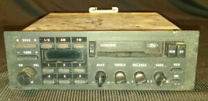 Ford F 150 Truck Or Mustang Am fm Radio Cassette Player 1987 1992 Factory Part