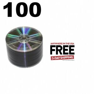 100 Grade A 16x Dvd r 4 7gb Shiny Silver shrink Wrap 1 3 Day