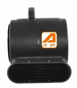 Us Portable Air Mover 3 Speed 800 Cfm Blower Fan Stackable industrial black