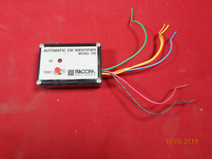 Racom Products Automatic Cw Transmitter Identifier In Morse Code Model 700