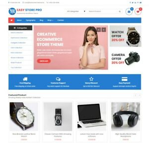 Established Wordpress Premium E commerce Store W Woo commerce Yith Wishlist