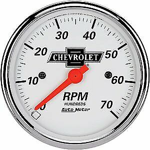 Auto Meter 1398 00408 Officially Licensed Gm Vintage Tachometer