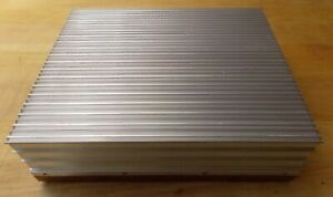 Used Large Finned Aluminum Copper Heat Sink For Power Supply Amp Rf Microwave