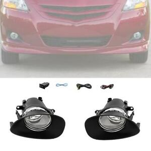 For 2006 2008 Toyota Yaris Hatchback Fog Light Replacement Switch Wiring Kit