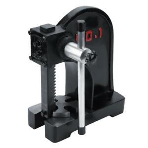 1 Ton Manual Arbor Press Lever Bench Mountable Bearings U Joints Pins Assembly