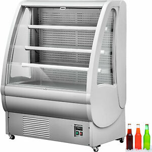 360l Refrigerated Display Case Stalinite Cooling System Energy Saving