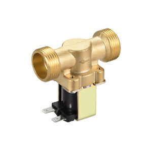 Dc12v G3 4 Brass Water Electric Solenoid Valve N c No Pressure Magnetic Valve