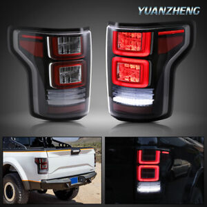 For ford F150 Tail Lights 2015 2020 Full Led Sequential Fiber Optic Assembly
