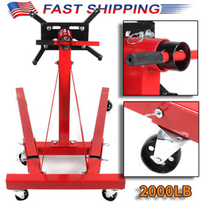 2000lb Foldable Engine Stand Hoist Engine Maintenance Support