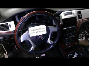Steering Wheel Black With Wood Accent Fits 07 08 09 10 11 12 13 Escalade 669547