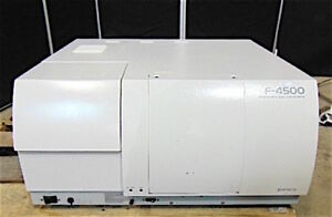Hitachi F 4500 Fluorescence Spectrophotometer Powers Up Fan Comes On S3155x