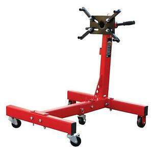 Torin Big Red Steel Rotating Engine Stand With Foldable Frame 3 4 Ton 1 500