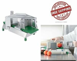 3 8 Tomato Slicer Restaurant Equipment Durable Cast Aluminum Stainless Steel