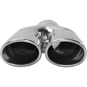 Exhaust Muffler Tail Tip Pipe For Chevy Avalanche Suburban Blazer S 10 Dual