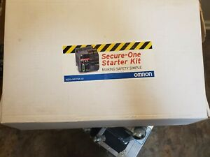Omron Ne1a scpu01plc Safety Network Controller Safety Starter Kit Must See