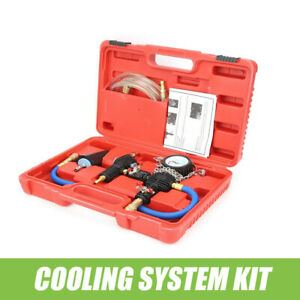 Cooling System Vacuum Purge Coolant Refill Tool Kit Set 90 Psi For Car Suv Van
