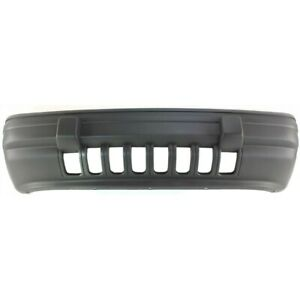 Bumper Cover Front For Jeep Grand Cherokee 1993 1995 Ch1000207 55032684