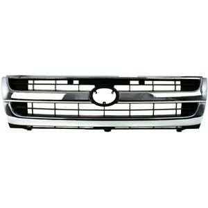 Grille For Toyota Tacoma 1997 2000 To1200205 5310004070