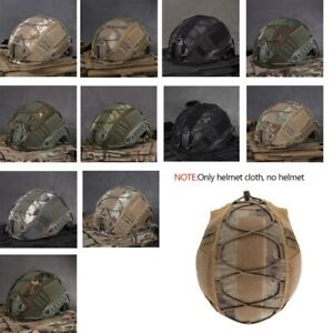 Tactical Military Combat Helmet Cover CS Wargame Outdoor Sports Helmet Cover US
