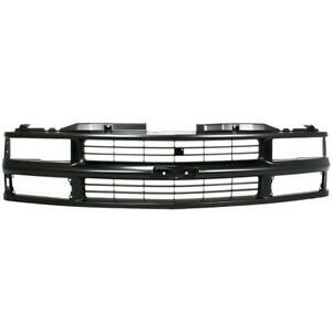 Grille For Chevy Suburban Chevrolet Tahoe C1500 Truck K1500 Gm1200239 15981092