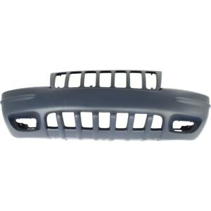 5012668aa Ch1000266 Bumper Cover Front For Jeep Grand Cherokee 1999 2000