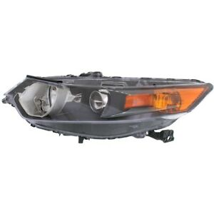 Headlight For 2009 2014 Acura Tsx Driver Side