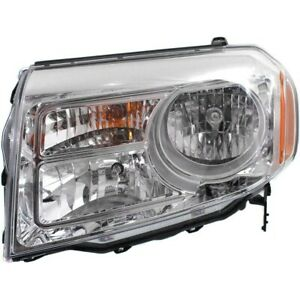 Headlight Lamp Left Hand Side Driver Lh Ho2502147 33150szaa11 For Honda Pilot